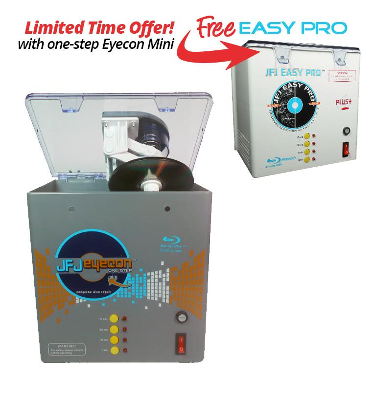 professional disc repair machine