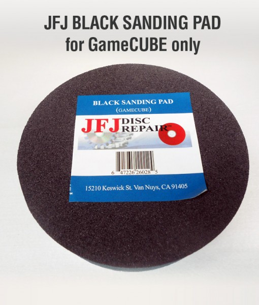 balck sanding pad for gamecube