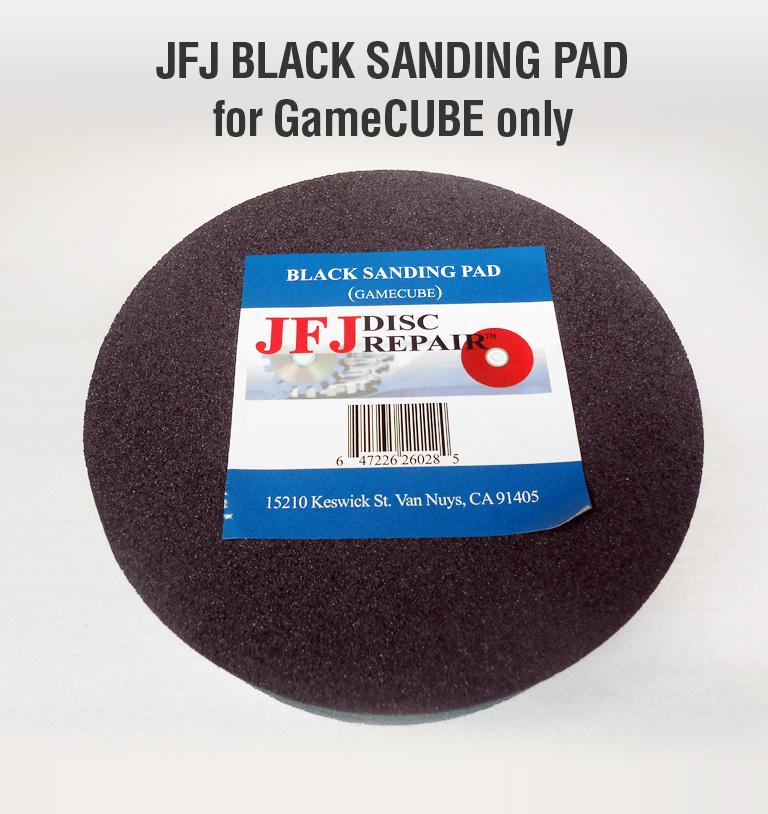 balck sanding pad for gamecube